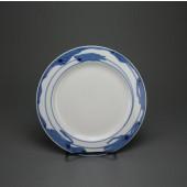 SOLD Meissen art nouveau plate with arnika pattern by Rudolf Hentschel, 21 cm