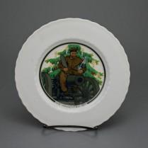 KPM Berlin Weihnachtsteller Kriegsjahr 1917