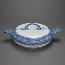 Meissen blaue Rispe Richard Riemerschmid um 1905 Terrine